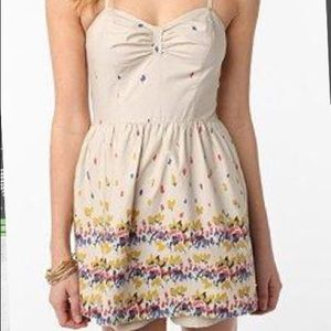 Urban Outfitters halter romper skirted (NWOT) - xs